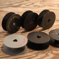 【古道具212】 昔の8mmフィルムの芯 小6個 スチール製