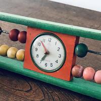 【古道具172】 木製 数え 玩具 レトロ