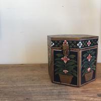 【雑貨009】インド 小物入れ 木製 木箱