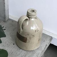 【古道具80】アンティーク 陶器瓶