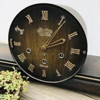【古道具73】ZJEWELS  レトロヴィンテージ ゼンマイ 置時計
