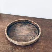 【古道具149】 刳貫丸盆 時代 骨董 古木材