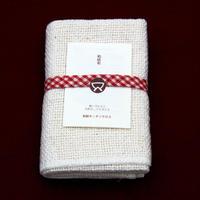 ふんわり やさしい 手つむぎの布 35cm×45cm