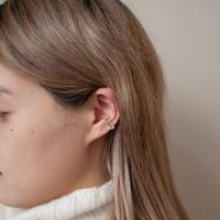 ear cuff/ K10WG - ストロベリークォーツ