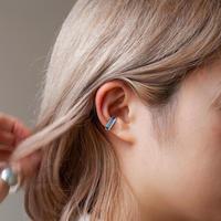 ear cuff/ K10YG - スイスブルートパーズ