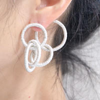 5リングピアス  片耳