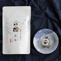 ねこ茶商印のハーブブレンド煎茶【レモンバーベナ】<ティーバッグ8包>