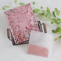 <お風呂のティーバッグ・天然由来成分>空想バスルーム【つぼみふくらむ桜のころ】