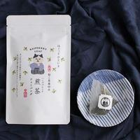 ねこ茶商印のハーブブレンド煎茶【ラズベリーリーフ】<ティーバッグ8包>