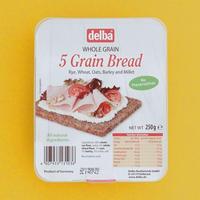 【delba】ファイブグレインブレッド<ドイツのライ麦パン>