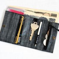 Wallet 2  LS21 Black Heather