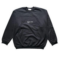 if you want logo sweat