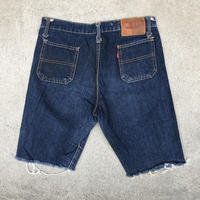 used BIG JOHN cut off denim LOT317