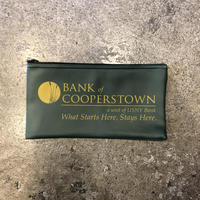 BANK of COOPERSTOWN bank bag
