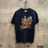 90sビンテージ ネコ科アニマルTシャツ