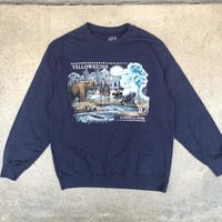 used YELLOWSTONE NATIONAL PARK SWEAT