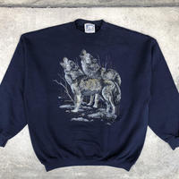USA製 FOX PRINT SWEAT