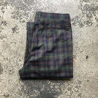 used DAKS WOOL CHECK PTS