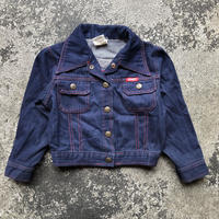 KIDS RED HAT DENIM JKT