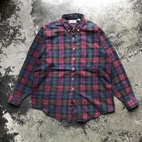 used USA製80〜90s L.L.BEAN CHECK BD SH