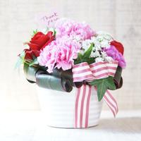 【生花】母の日アレンジメントギフトL/PINK
