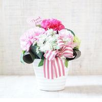 【生花】母の日アレンジメントギフトM /PINK