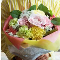 【早得対象商品】【生花】MOTHER'S DAYブーケ