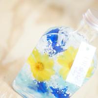 ハーバリウム サマーボトルM  blue&yellow