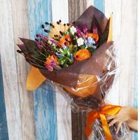 【生花】秋の花のブーケ