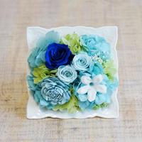 【SUMMER GIFT】プリザーブドフラワーアレンジメント/白陶器