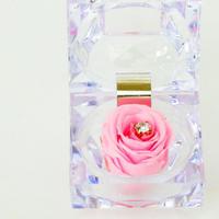 プリザーブドローズのジュエリーBOXアレンジメント【peal pink】