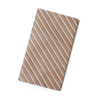 【数量限定】Organic Cotton Mask Case  -Copper Stripes-