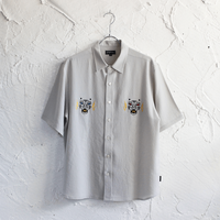 XOSYSTEM|I HOPE XO S/S SHIRT |LIGHT GRAY