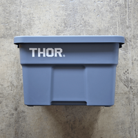 """Thor Large Totes With Lid """"22L / Gray"""""""