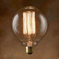"Edison Bulb ""Globe (L) / 40W / E26"" / 2939GL"