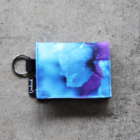 UNDEAD 'BLUE POPPY' Coin & Card Holder
