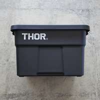 """Thor Large Totes With Lid """"22L / Black"""""""