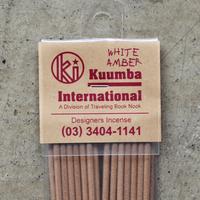 """KUUMBA  """"WHITE AMBER"""""""