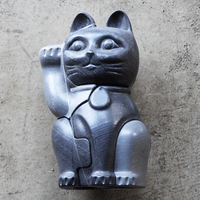 "3D Puzzle Manekineko ""Black / Large"""