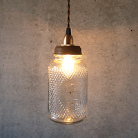 """In The Bottle Lamp """"Coffee"""""""
