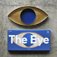 """The Eye """"Gold and Blue"""""""