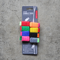 Color Cable Ties set of 8