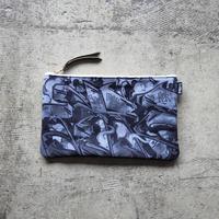UNDEAD 'MAD BLACK' clutch bag - M size
