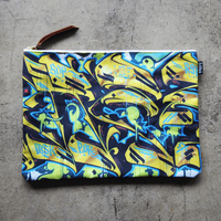 UNDEAD 'WERETIGER' clutch bag - XL size