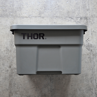 """Thor Large Totes With Lid """"22L / Olive drab"""""""