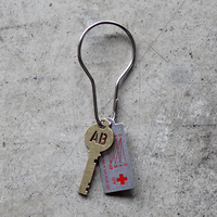 "Blood Type Key Plate ""AB"""