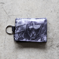 UNDEAD 'MAD BLACK' Coin & Card Holder