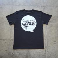 Drip Logo Tee Shirt for Kids - Black/Off White
