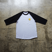 Original 3/4 Raglan Tee design by COOK - Black/Gray