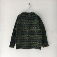 USED● ICELAND made in sweden Nordic Sweater Olive スウェーデン製 ウール セーター ビンテージ